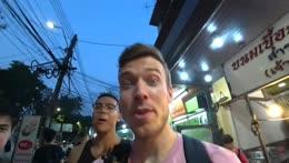 Jake doing Mark Wiens impression 10/10 (Bangkok)