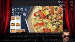 corn on pizza