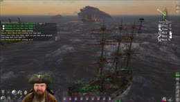 Whales spawn in middle of ship battle!