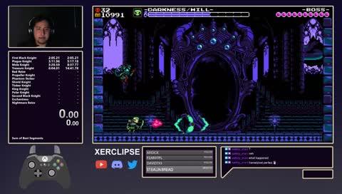 Xerc breaks game