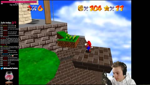 nisse watches mario commit suicide