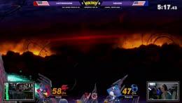 wtf Falco peut SH Double Laser