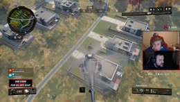 Steve kills Cody with a cluster grenade in a helicopter