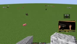 Duoble ramp rush in minecraft LOL