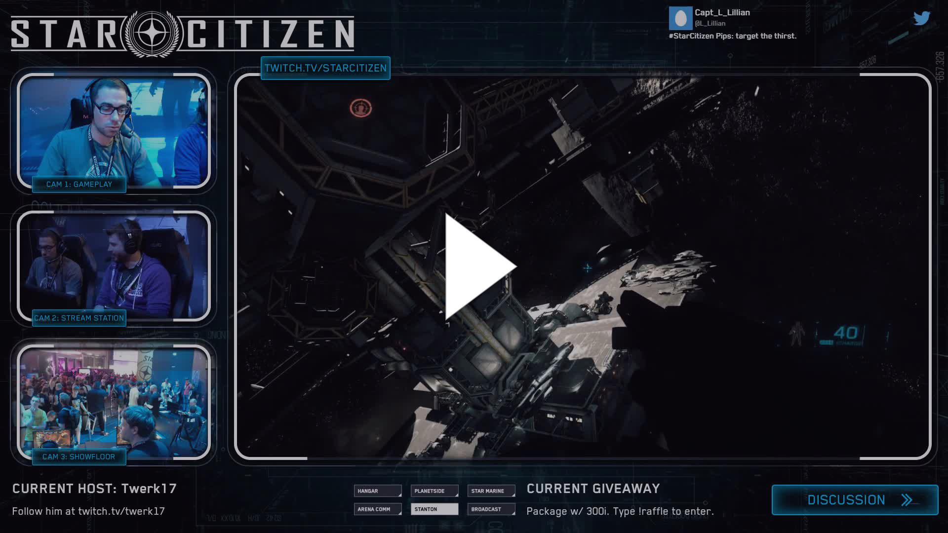 Star Citizen - The Only Time I Hit a Shot - Twitch