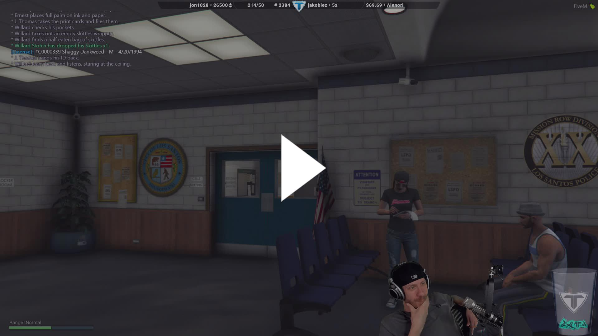 Timmac - Shaggy Arrest Charges - Twitch