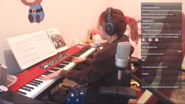 Lily Plays Dearly Beloved