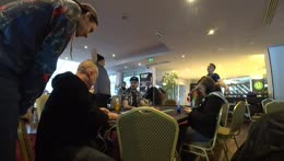 Jake in poker tournament