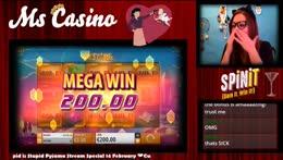 Mega Win on Ticket to the Stars