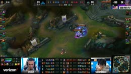LCK Lee Sin steals the Baron