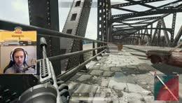 Ninja at the bridge.