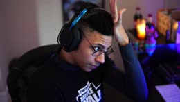 Myth rubbing his forehead
