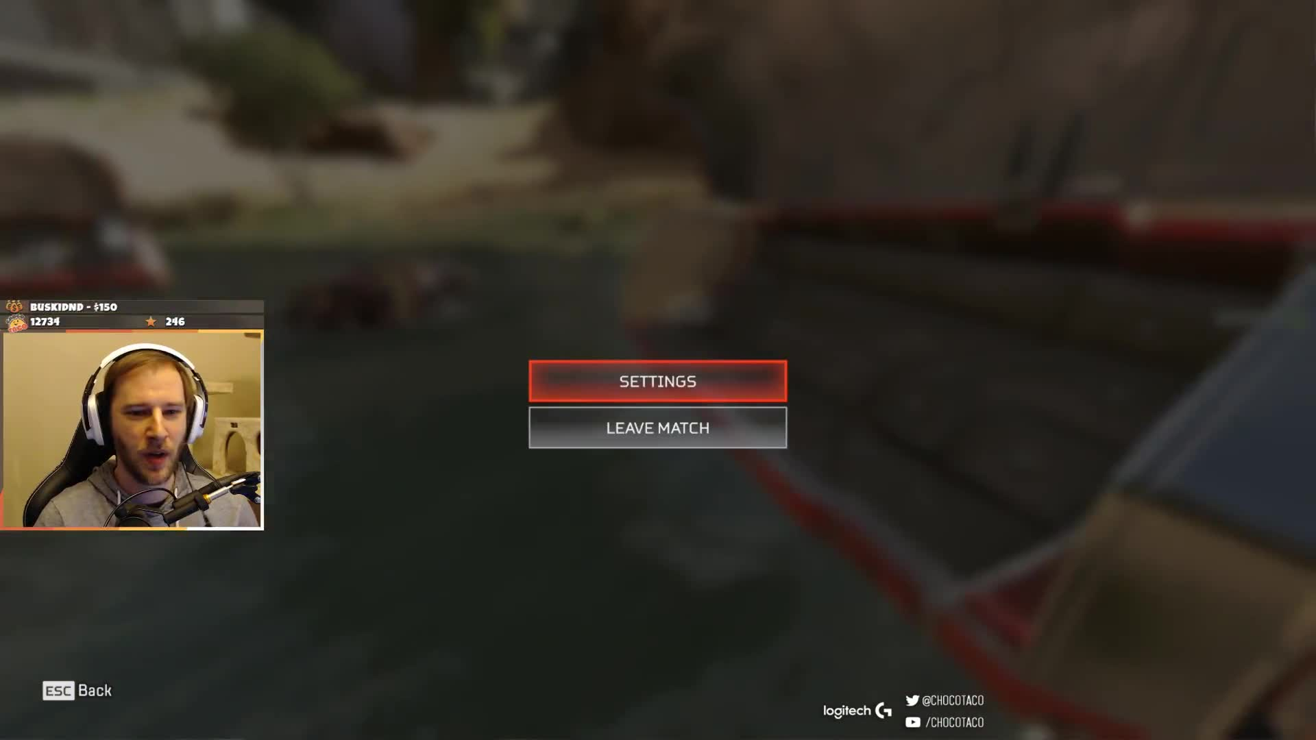 chocoTaco - apex settings - Twitch