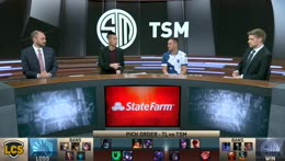 Steve fired the coach in TSM vs TL