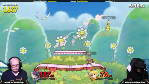 Mew2king hits two Alolan whips and gets punished for the second one