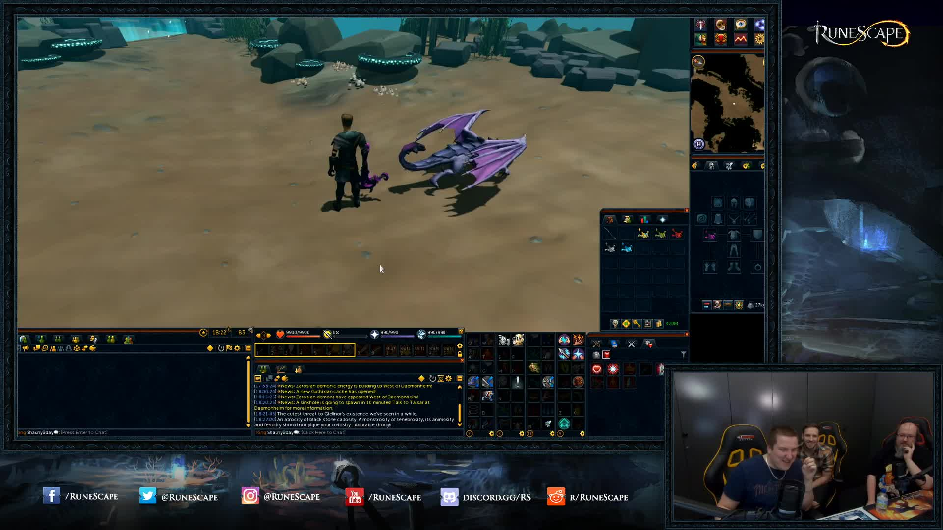 RuneScape - new pets - Twitch