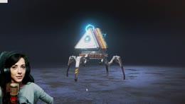 Kasia robi 360 na krześle POGGERS