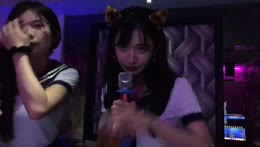 '123 123 drink' KTV singing with HimeChar「Sia - Chandelier」❤