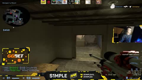 s1mple is insane