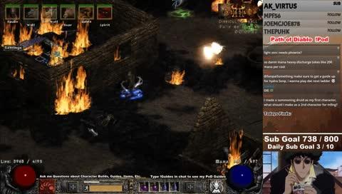 senpai fire druid vs uber tristram diablo