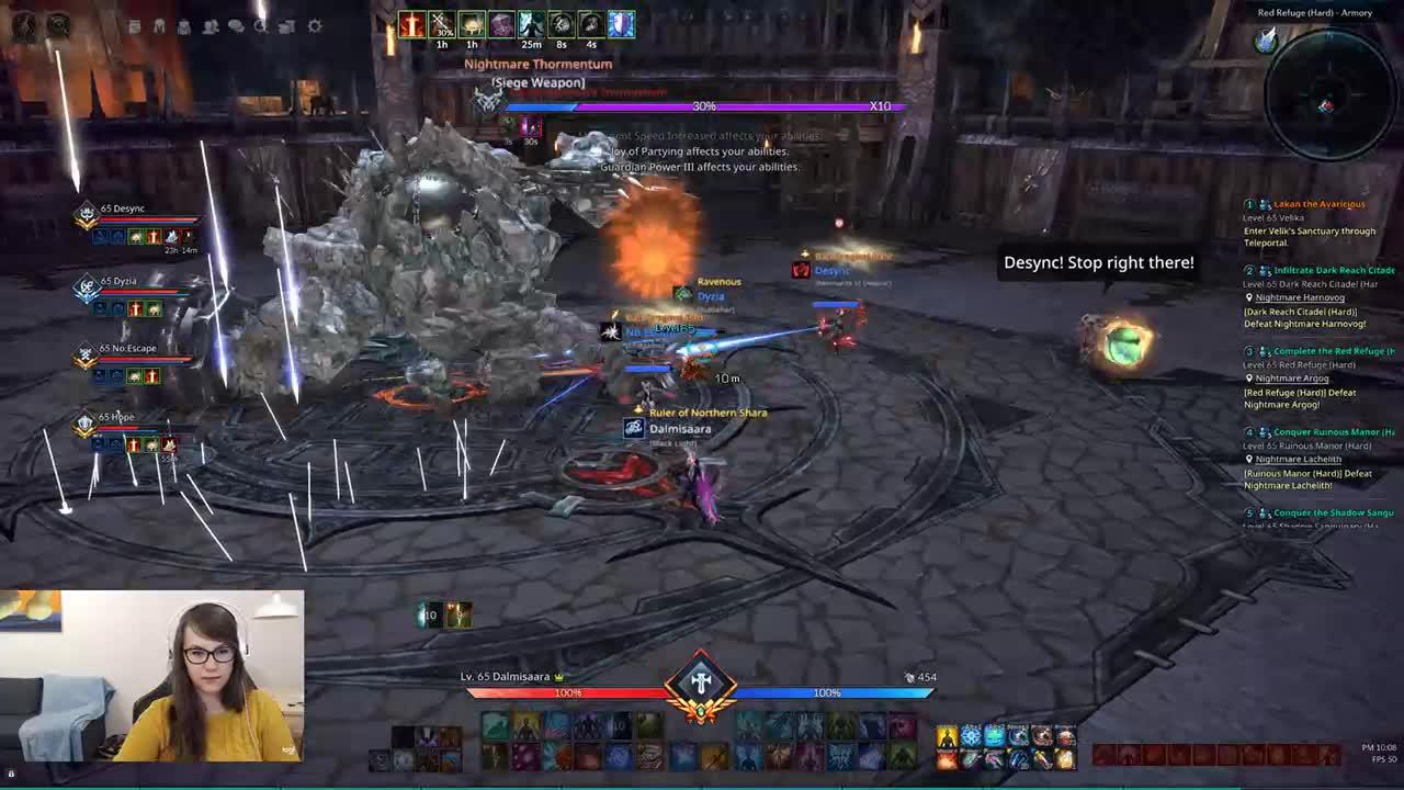 Raisslin - Saving Desync in dungeons 24/7 - Twitch