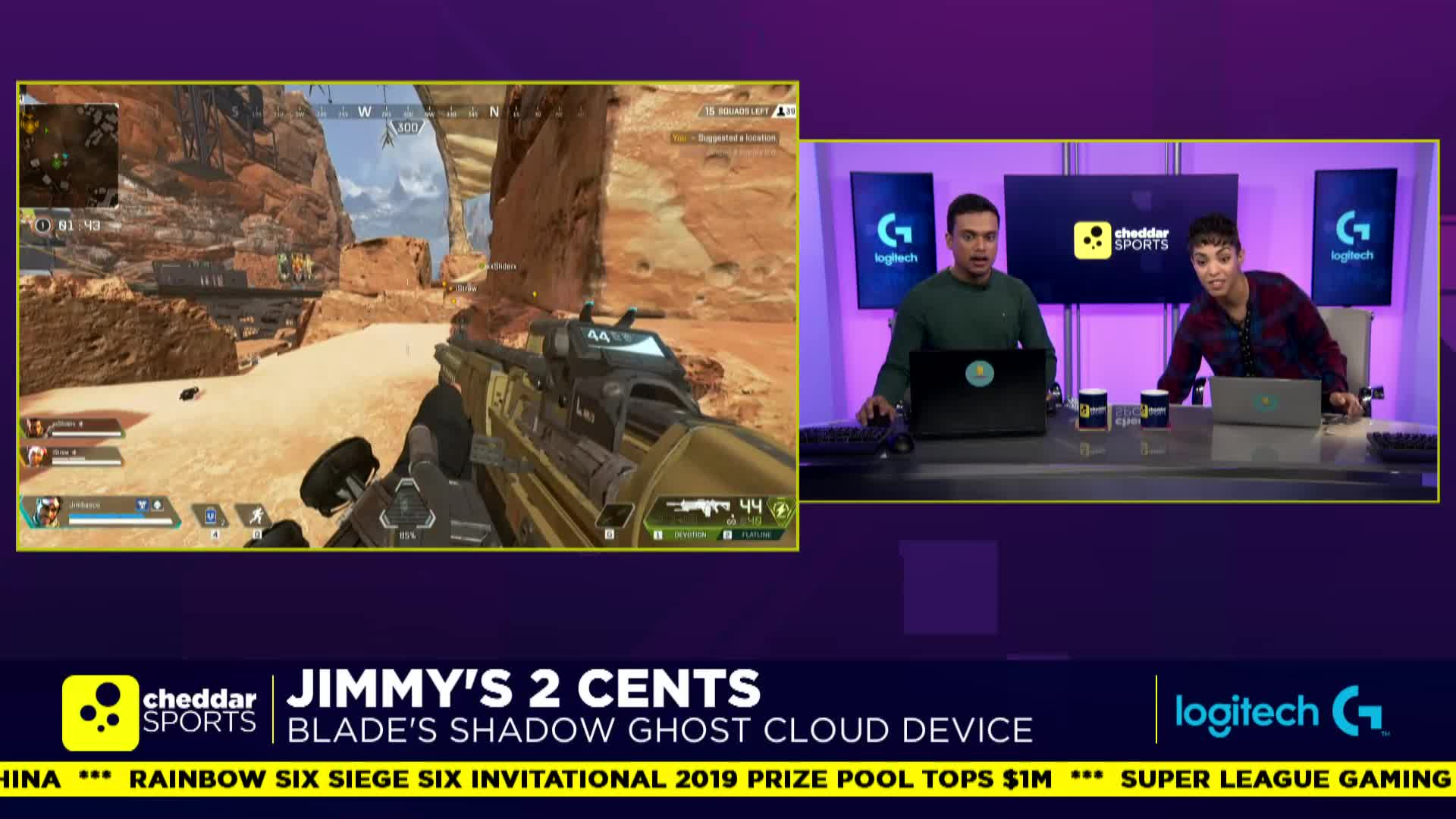 Cheddar - It enables gaming anywhere - Shadow - Twitch