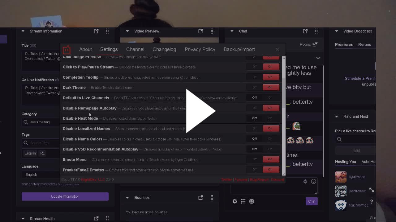 AikoBliss - should you use dark theme? - Twitch
