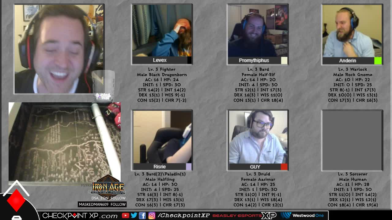 CheckpointXP - Promy trips and falls 60 ft   - Twitch