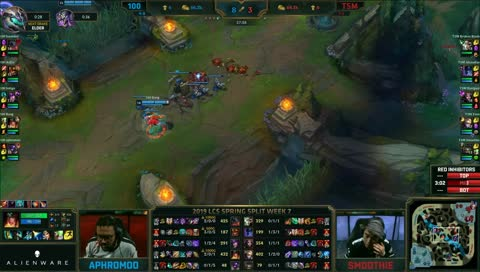 aphromoo stands still for a minute and dies