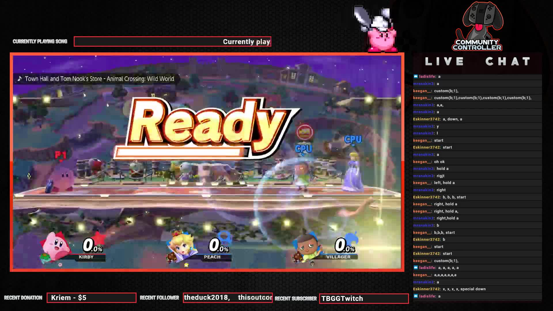 CommunityController - Peach CPU gets 2 saturns in a row in twitch