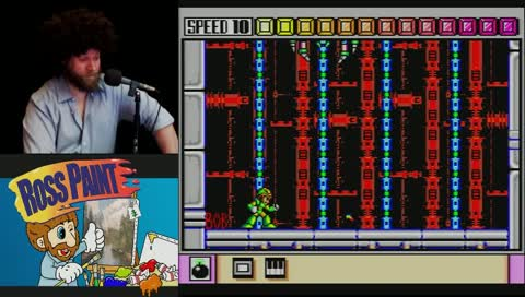 Andy does MegaManX Spider Boss #Mindblowing