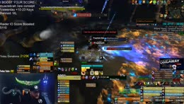 This is better one, with distracting shroud with couple of death still leave healer alive.