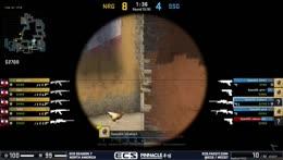 Snakes - 3 AWP kills on the defense