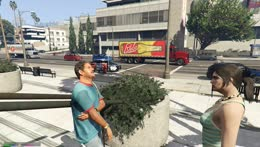 Bogg delivers food to the Courthouse