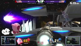 Kirby eating again