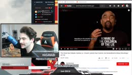 HasanAbi aka Hasan Piker Reaction Video to Jesse Lee Peterson Merch Commercial LOL