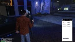 Esfan punching a woman!