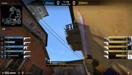 LOGAN - 4 Glock kills (2 HS) on the bombsite A offensive (pistol round)