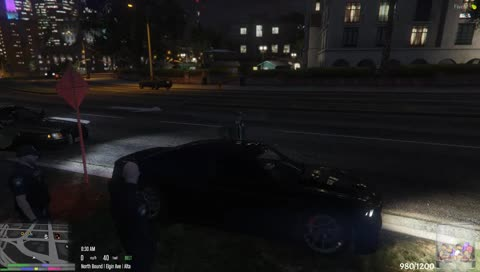 Tony get's pulled over