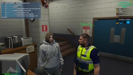 Dirty cop asking for 50k then punching Crayator