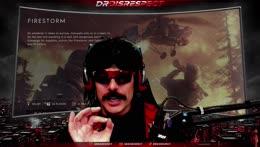 Dr Disrespect on BFV Firestorm