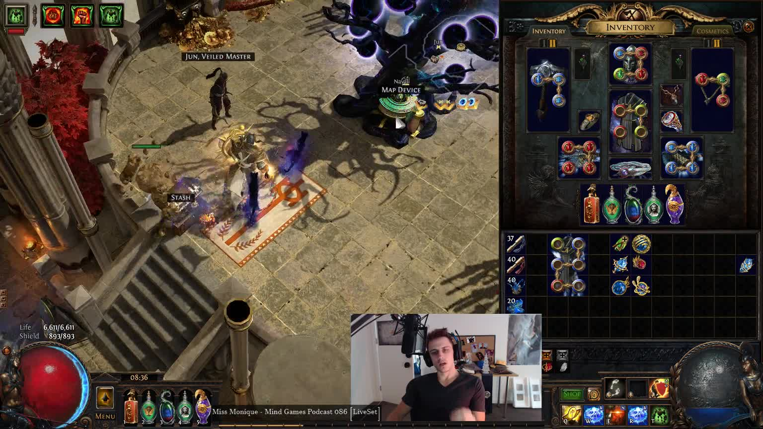 Mathil's thoughts on Divine Orb interaction with Fractured