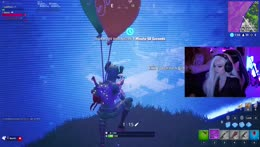 triple balloon snipe. She is insane