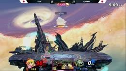 Meta Knight vs Peach mu in a nutshell