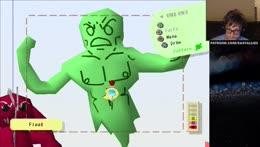 Green MAN STAND