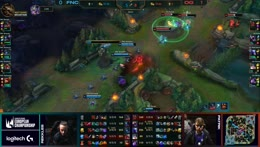 LEC Fnatic vs Origen Game 2 Fight in Mid