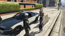 police car construction