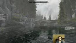LEGEND KING AUGUST vs WATER GOAT - Skyrim