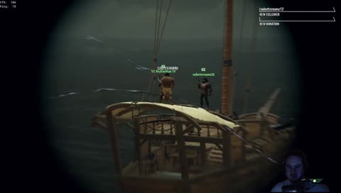 The people you meet on the seas......