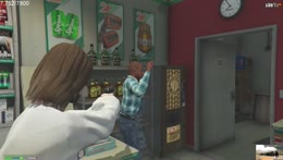 Jesus robs a store with 3 bobs